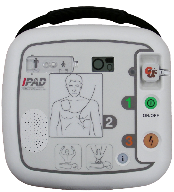 CU Medical iPAD SP1 AED | RH Brandbeveiliging