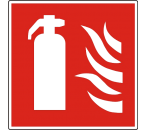 Pictogram Brandblusser NEN-EN-ISO 7010