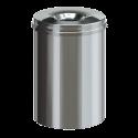 Vlamdovende Papierbak RVS 30 liter