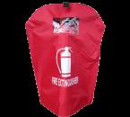Beschermhoes geschikt voor brandblussers 12 kilo