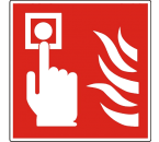 Pictogram Handmelder NEN-EN-ISO 7010