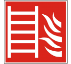 Pictogram vluchtladder NEN-EN-ISO 7010